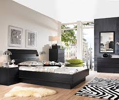 black wood bedroom furniture. Exellent Black Laguna Full Bed Black Woodgrain Intended Wood Bedroom Furniture