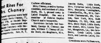 Winnie Chaney - Newspapers.com