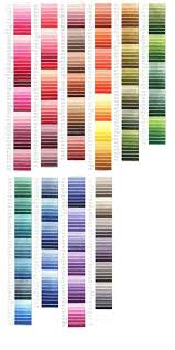 Iris Floss Color Chart Best Iris Thread Images On Pinterest Embroidery Thread