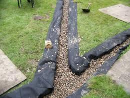 garden drainage. Garden Drainage   Lawn Land Field . E
