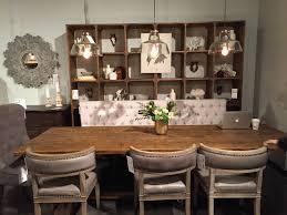 dining vineyards four hands carter dining chair light grey white wash wood durham dining table 110 oak top bl oak las vegas market 2018