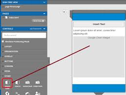 Intel Xdk Controls 4 Using Google Charts Widget