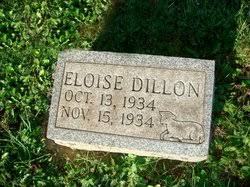 Eloise Dillon (1934-1934) - Find A Grave Memorial