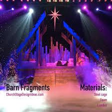 Pleasant Valley Baptist Church Christmas Lights Barn Fragments Christmas Stage Design Christmas Stage