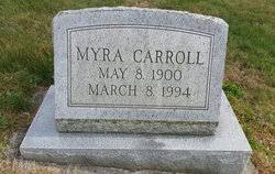 Myra Carroll (1900-1994) - Find A Grave Memorial