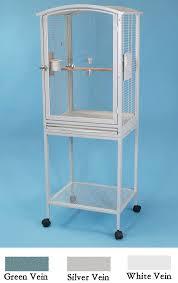 acrylic parrot bird cage scallop top cockatiel conure gif 755x1200 plexiglass bird cages