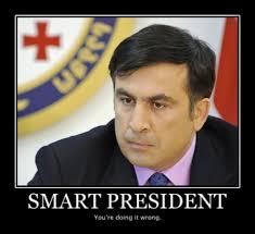 Mikheil Saakashvili by vir - Mikheil_Saakashvili_by_vir