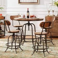 5 Piece Bar Table Set Homesullivan Olson 5 Piece Brown Bar Table Set 405429 36rd5pc
