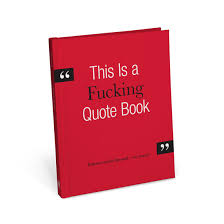 Quote Book Classy Knock Knock This Is A Fucking Quote Book KnockKnockStuff