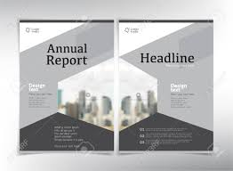 Brochure Cover Pages Modern Business Cover Pages Vector Template With Space For Your