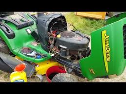 diagnose a john deere riding lawnmower