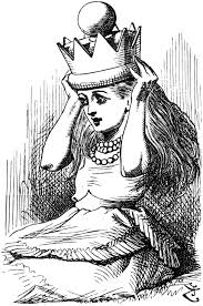 red queen book drawing image 2book41 alice in wonderland wiki of red queen book drawing cruel