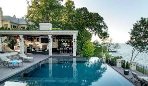 outdoor kitchen designs with pool get design inspiration from our outdoor kitchen gallery pool and outdoor