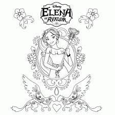 Elena Van Avalor Kleurplaten Leuk Voor Kids