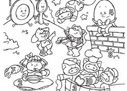 Fairy Tales Coloring Pages Printables