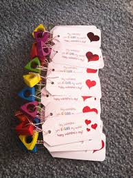 Crayon Rings Crayon Rings From Target Great Non Food Valentines For Preschool