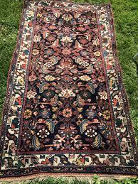 antique persian bahktiar rug