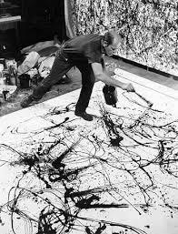 jackson pollock before blue poles jackson pollock painting summer 1950 photo hans namuth