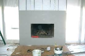ideas to cover fireplace opening covering brick with drywall freshen 1 how a