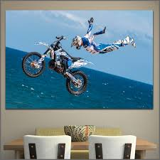 large size printing motorcyclist jump helmet flight wall art picture home decor living room modern canvas on flight wall art with large size printing motorcyclist jump helmet flight wall art picture