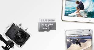 Thẻ Nhớ Micro SD Samsung Pro 128GB Class 10 (Read 90MB/s - Write 80Mb/s) -  Hàng Chính Hãng