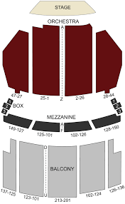 Orpheum Theater Los Angeles Ca Seating Chart Stage