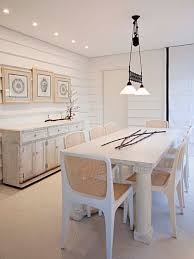 whitewash furniture. cottage chic dining room photo in other with white walls whitewash furniture