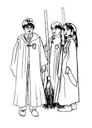 Printable Harry Potter Coloring Pages Coloringmecom
