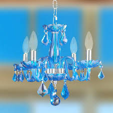 blue crystal chandelier clarion 4 light chrome finish sapphire swarovski earrings