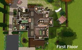 sims 3 mansion floor plan houses on sims 4 house floor for sims house plans
