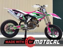 husqvarna motocal motor racing decals