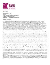 letter expressing concern flibanserin pharmed out