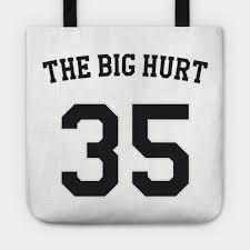 Frank Thomas The Big Hurt Baseball Nickname Jersey