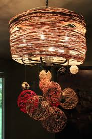 img yarn ball chandelier the fiery imp tales and rants from thefieryimp make over cotton lights twine string jute jail balloon lamp craft paper mache