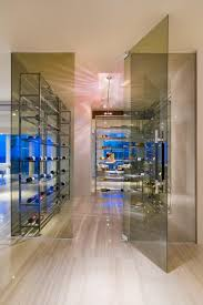 Glass Wine Room Design Any Connoisseurs Dream Modern Wine Cellar Designs