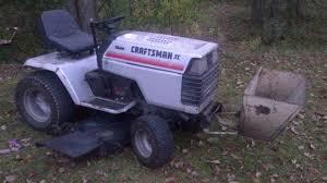 sears craftsman tractor forum