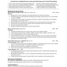 Visual Merchandiser Resume Merchandiser Resume Sample Free Retail Merchandiser Resume Format 61