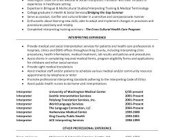 best medical interpreter resume ideas simple resume office