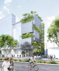 VTN Architects Blend Greenery Into Nanoco Head Office In Vietnam
