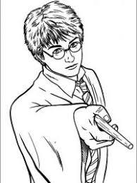 Harry Potter Kleurplaat
