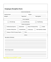 Employee Disciplinary Write Up Top Result Employee Disciplinary Write Up Template Beautiful