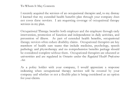 cover letter stunning ot occupational therapy occupational therapy cover letter
