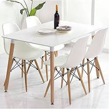 charles ray inspired eiffel retro design wood style chair for office lounge dining kitchen
