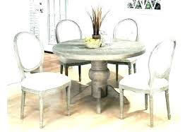 distressed dining table white and chairs oak marvelous room round distressed oak round dining table distressed