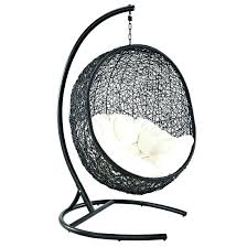 hanging egg chair with stand adorable best outdoor patio swing com co wicker swinging indoor hanging egg chair
