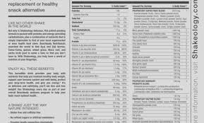 shakeology nutrition shakeology review shakeology meal supplement facts t11coaching vanilla