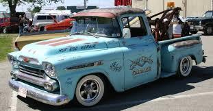 chevy apache pickup rat rod truck