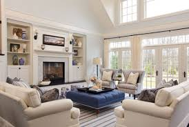 this is the related images of Living Room Furniture Arrangement With  Fireplace