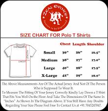 Polo T Shirt Size Chart Polo T Shirts Size Chart Arts Arts
