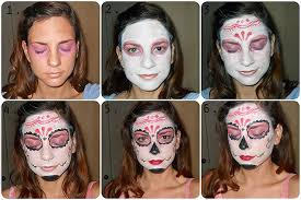 you how to apply day of the dead makeup mugeek vidalondon